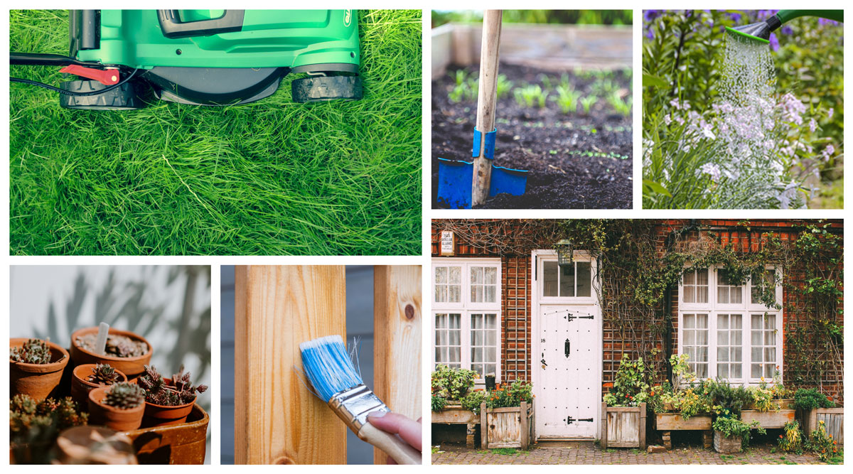 clean and maintain your exterior