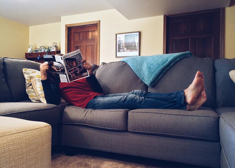 Refresh the sofa