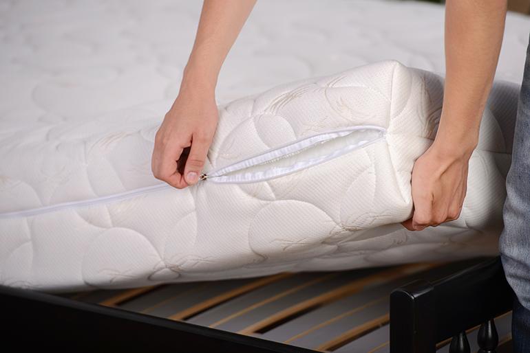 Refresh the mattress